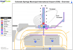does colorado springs have an airport
