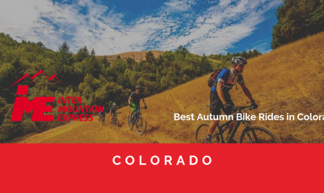Amazing Fall Bike Rides in Colorado By Denver to Vail transportation