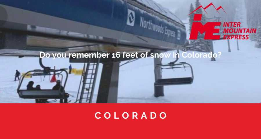 Memories of 16 feet of snow covering the mountains of Colorado (1)