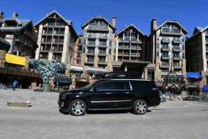 Eagle airport to Vail shuttle